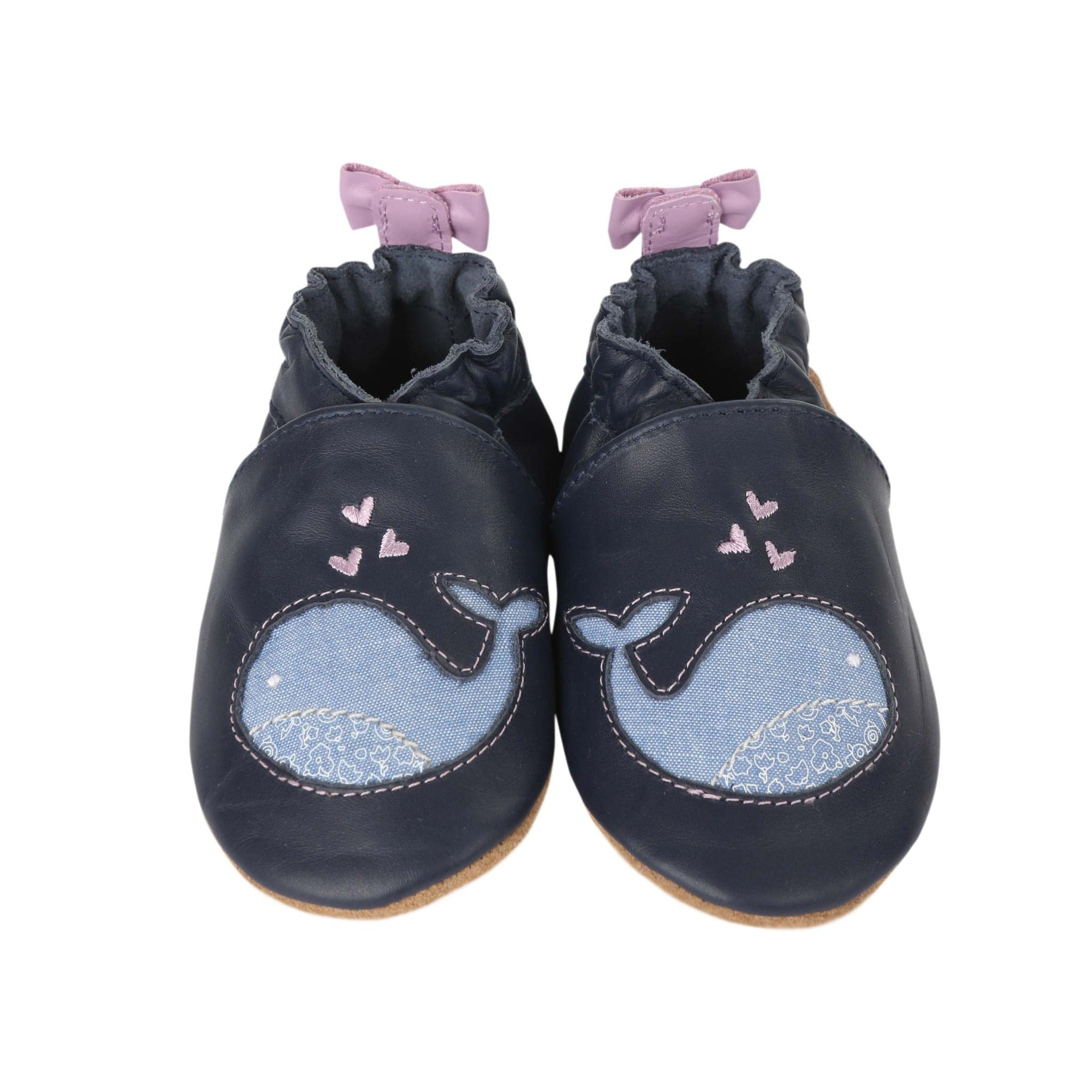 Poppy Whale Softsole Shoe