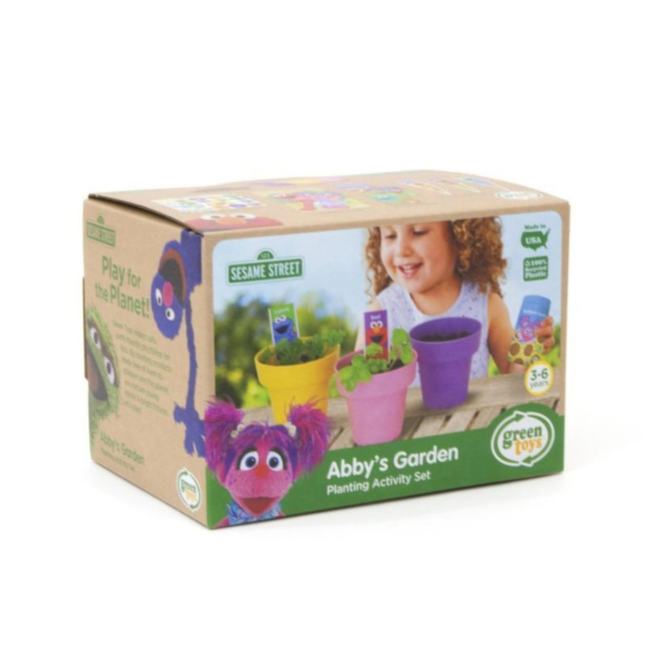 Green Toys sesame street Abby's garden planting activity set