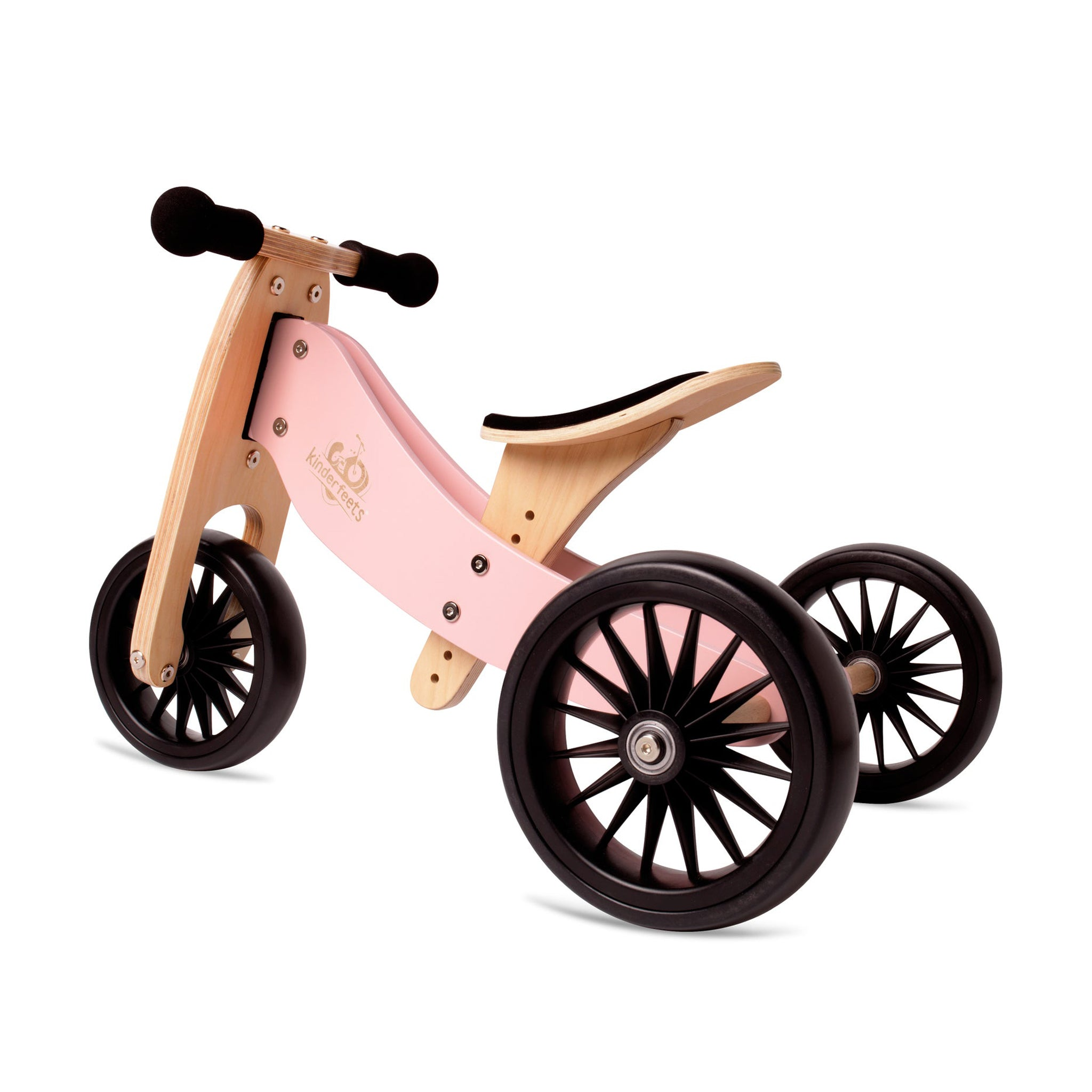 2-in-1 Tricycle & Balance Bike PLUS Rose