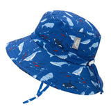 Aqua Dry Bucket Hat Whales Jan & Jul