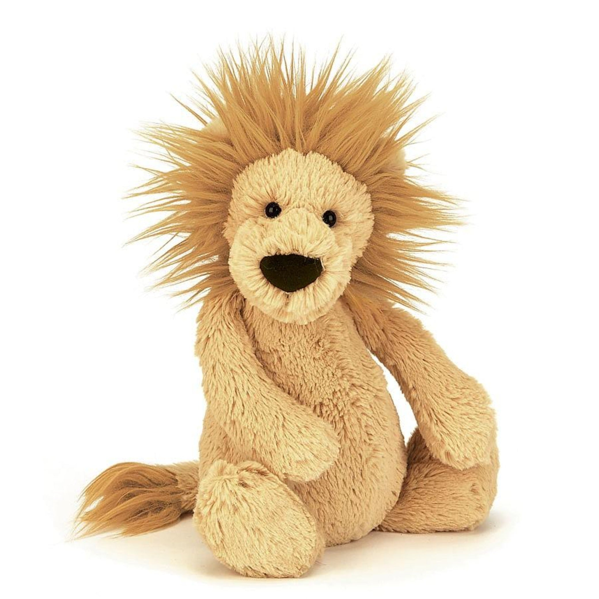 JellyCat plush small lion with mane toy