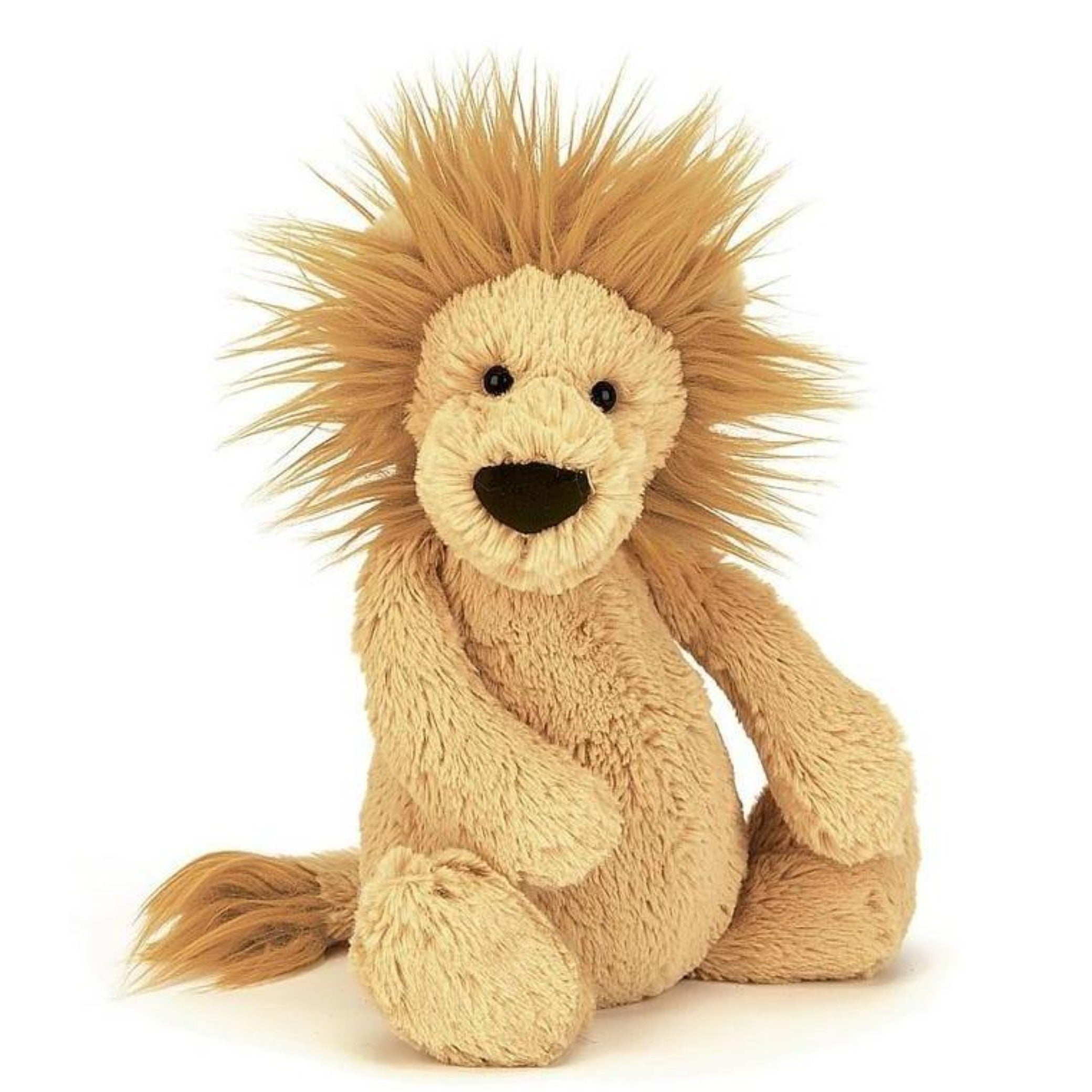 JellyCat plush medium lion toy