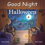Goodnight Halloween written by Adam Gambler and illustrated by Mark Jasper