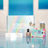 Fairy Makeover Box at home bowfish studios gold glitter
