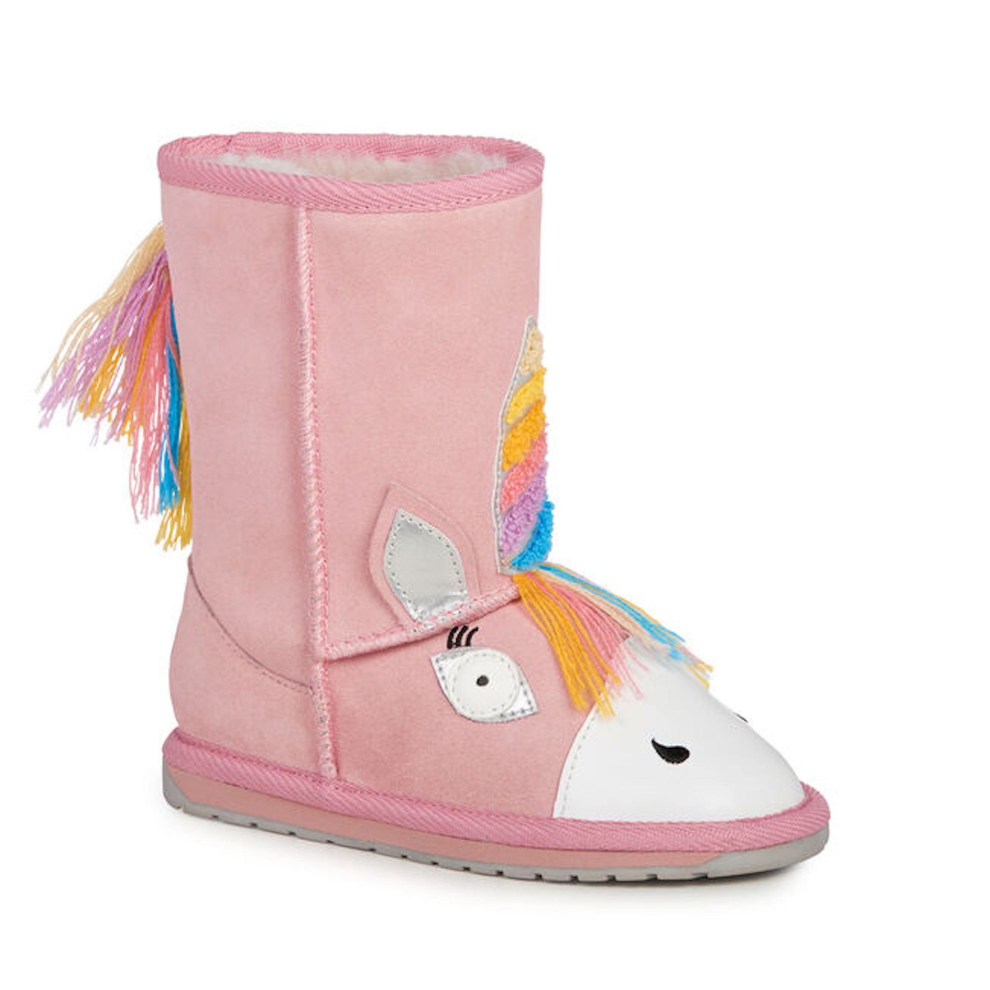 Magical Unicorn Pink EMU Boot
