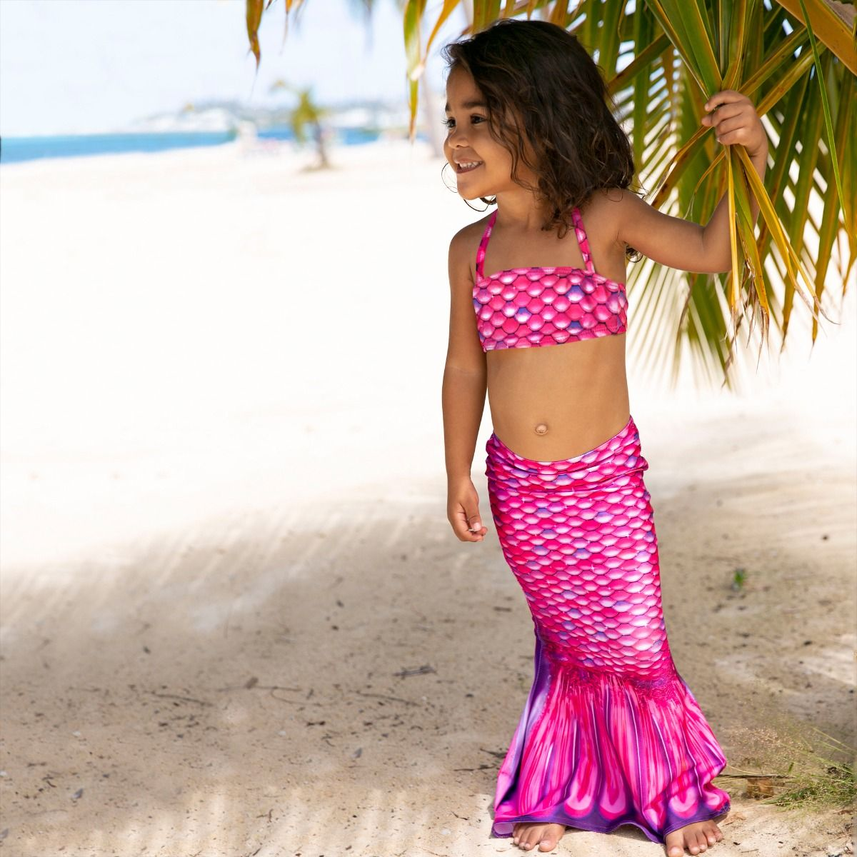 Malibu Pink Toddler Tail and Bandeau Set Ocean CIty New Jersey