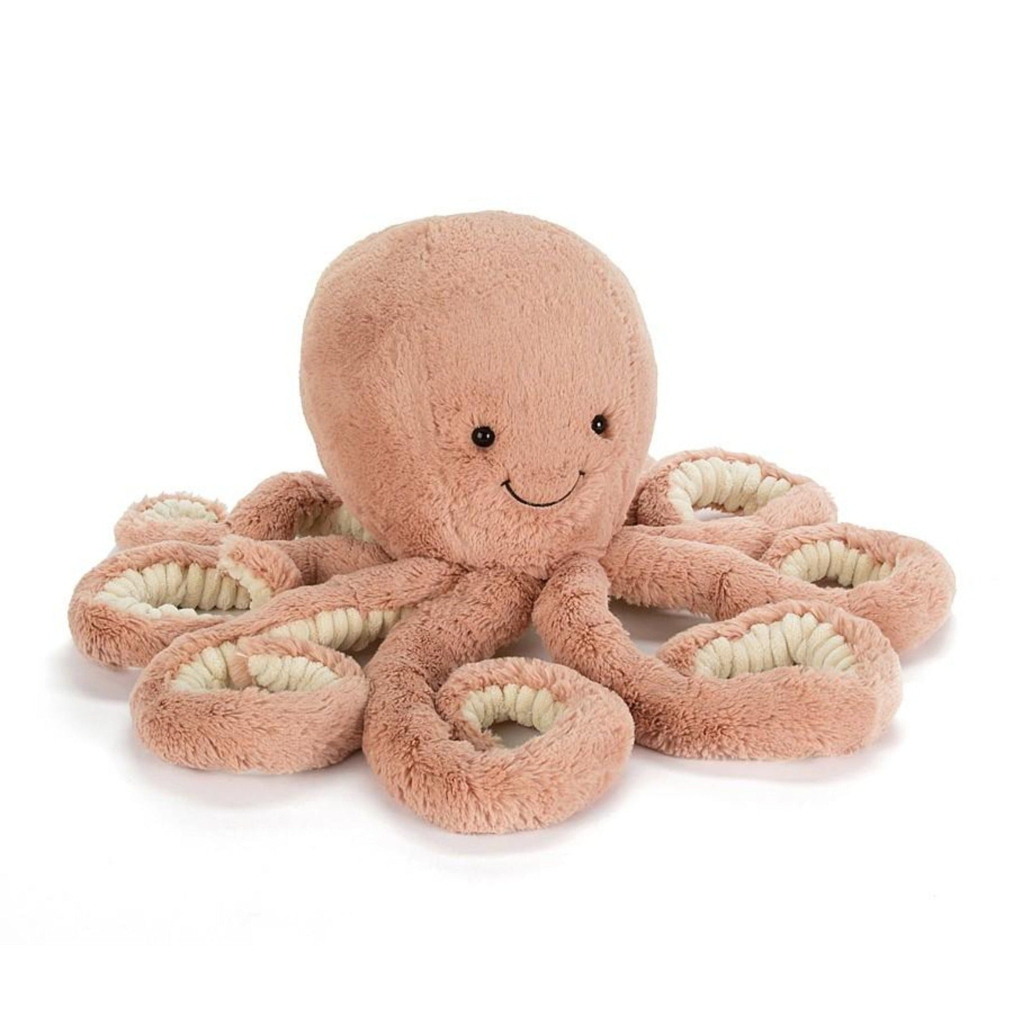 Jellycat plush apricot octopus toy
