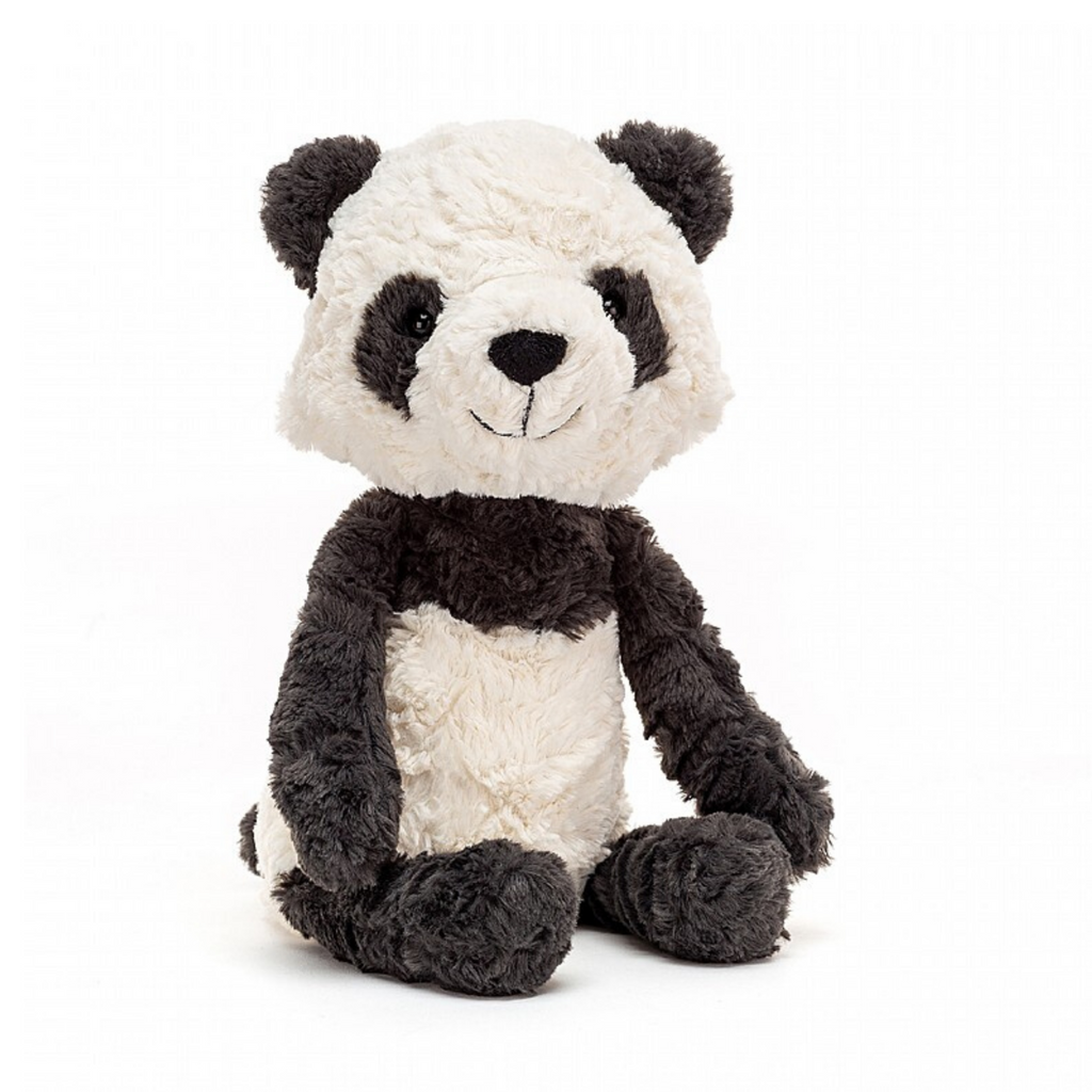 JellyCat plush medium panda cub toy