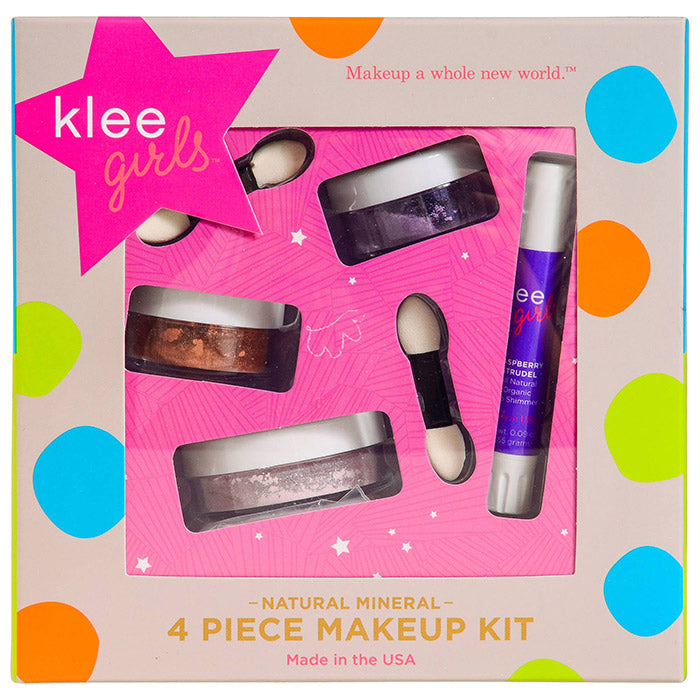 Klee Girls Natural Mineral Makeup 4-PC Kit Glorious Afternoon