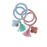 Spiral Spring Dangle Hair Ties