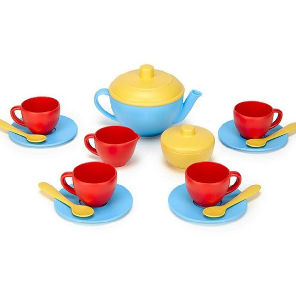 GT Tea Set - Blue 17 pc