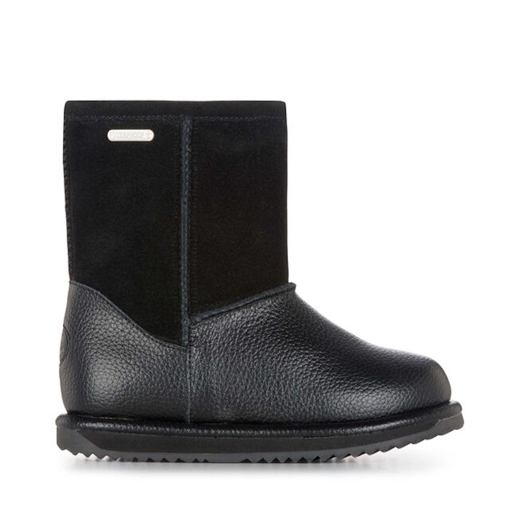Trigg Black Waterproof EMU Boot