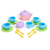 Green Toys pink tea set