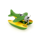 Green Toys green & yellow seaplane water toy