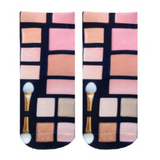Living Royal makeup print socks