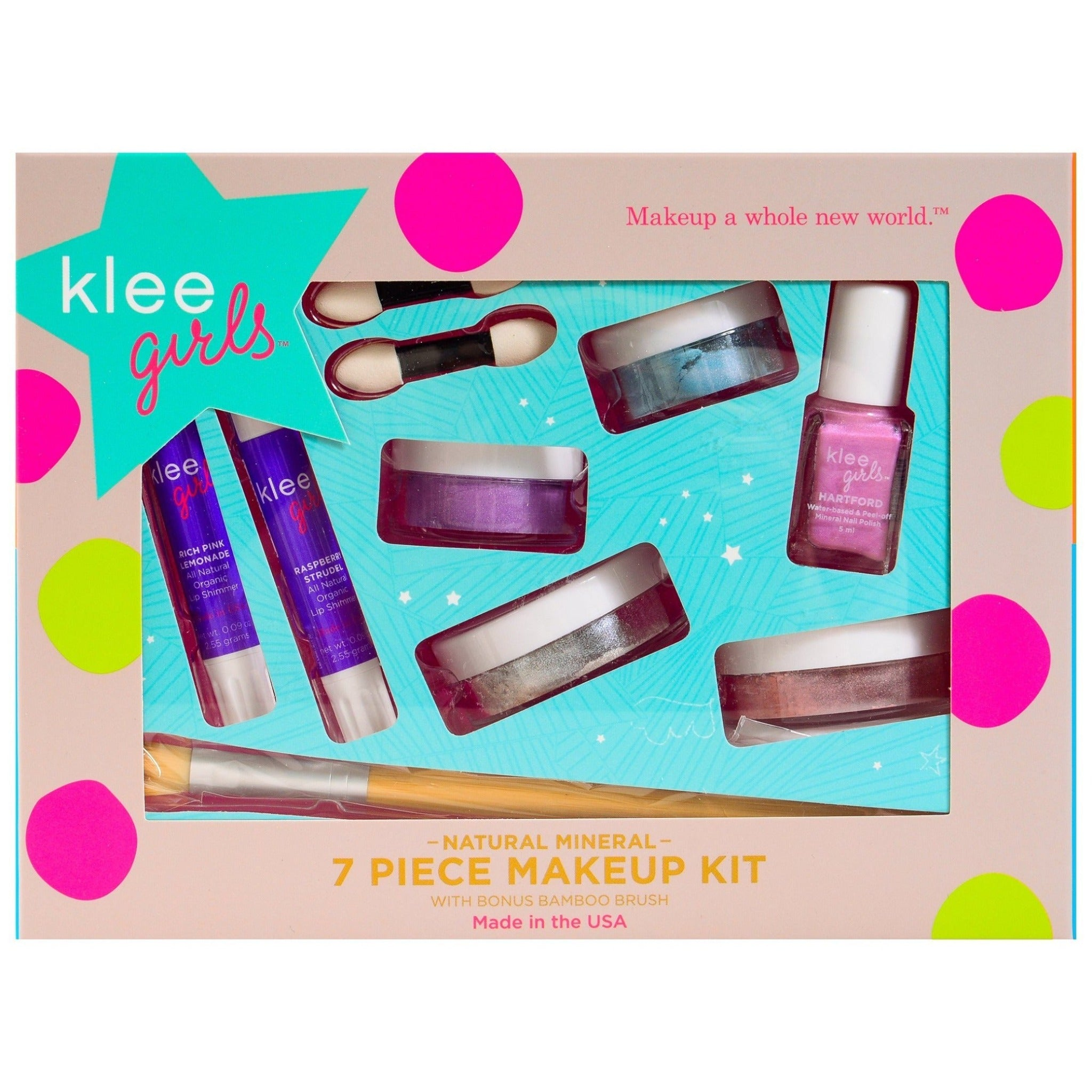 Klee 7 piece mineral play make-up set