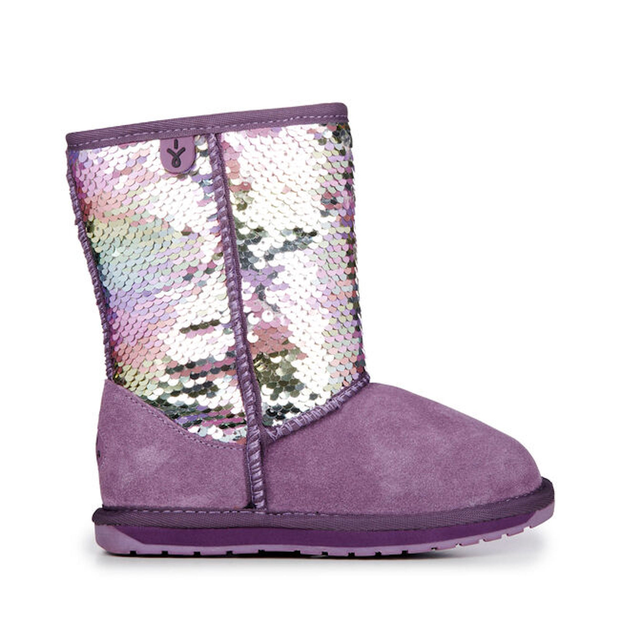 Wallaby Sequin Grape EMU Boot