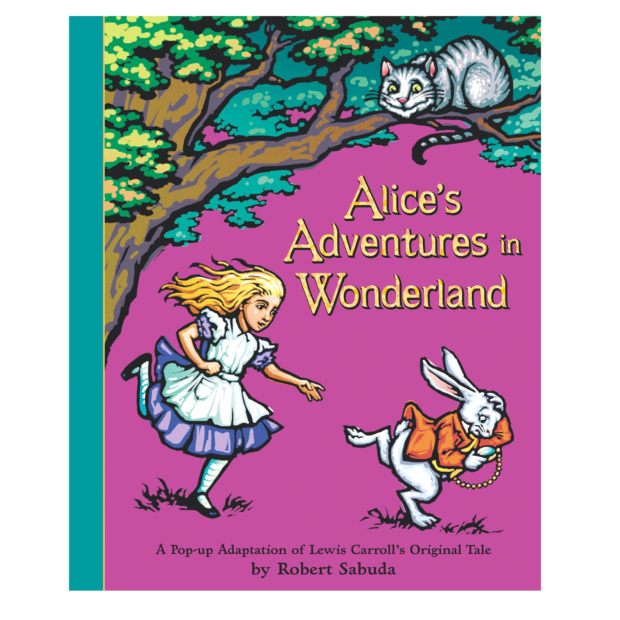 Alice in Wonderland Popup Book (7 Years+)
