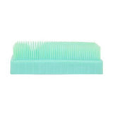 """Mattie"" Polypropylene Brush Aqua"