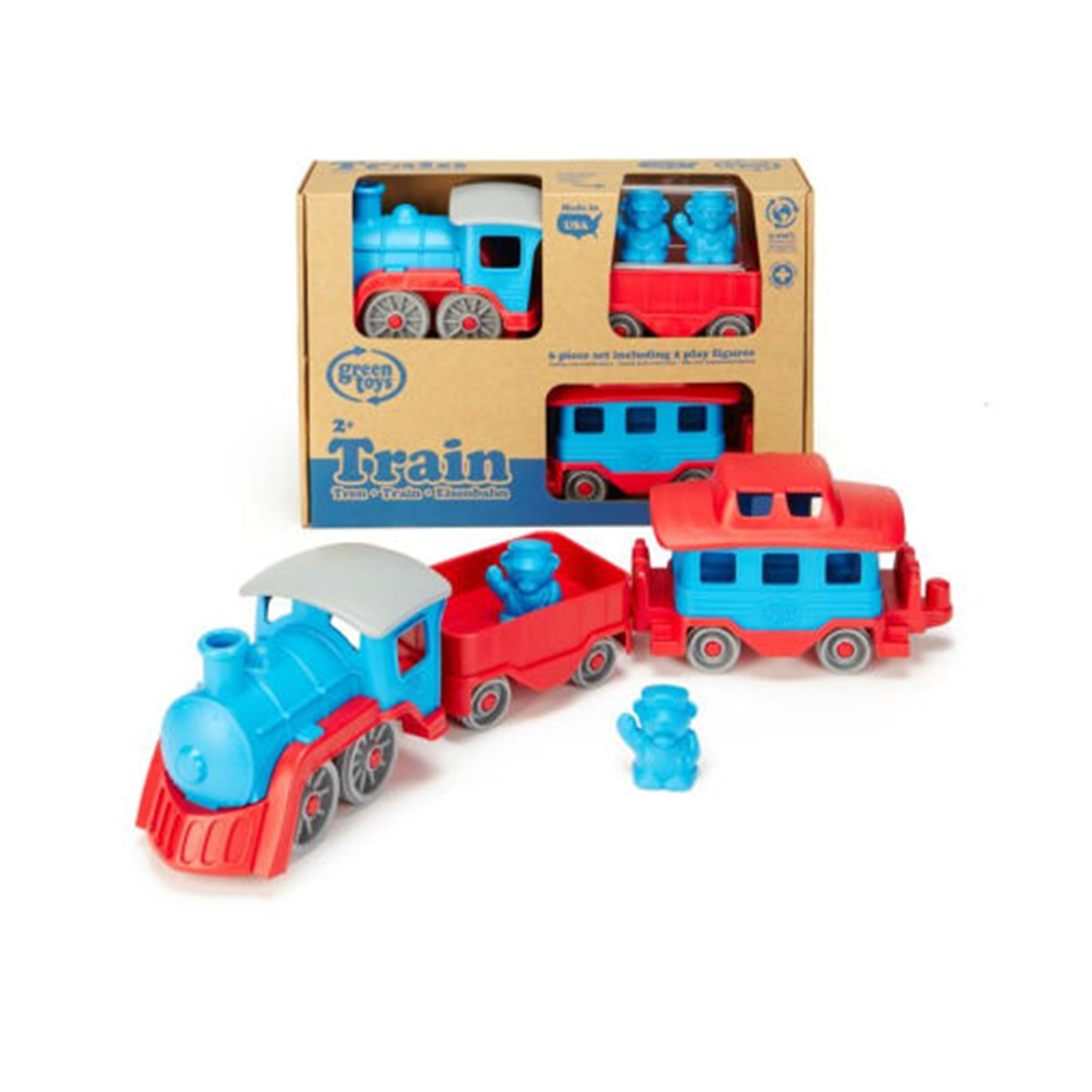 BPA Free Recycled Blue Train  (2+ Years)