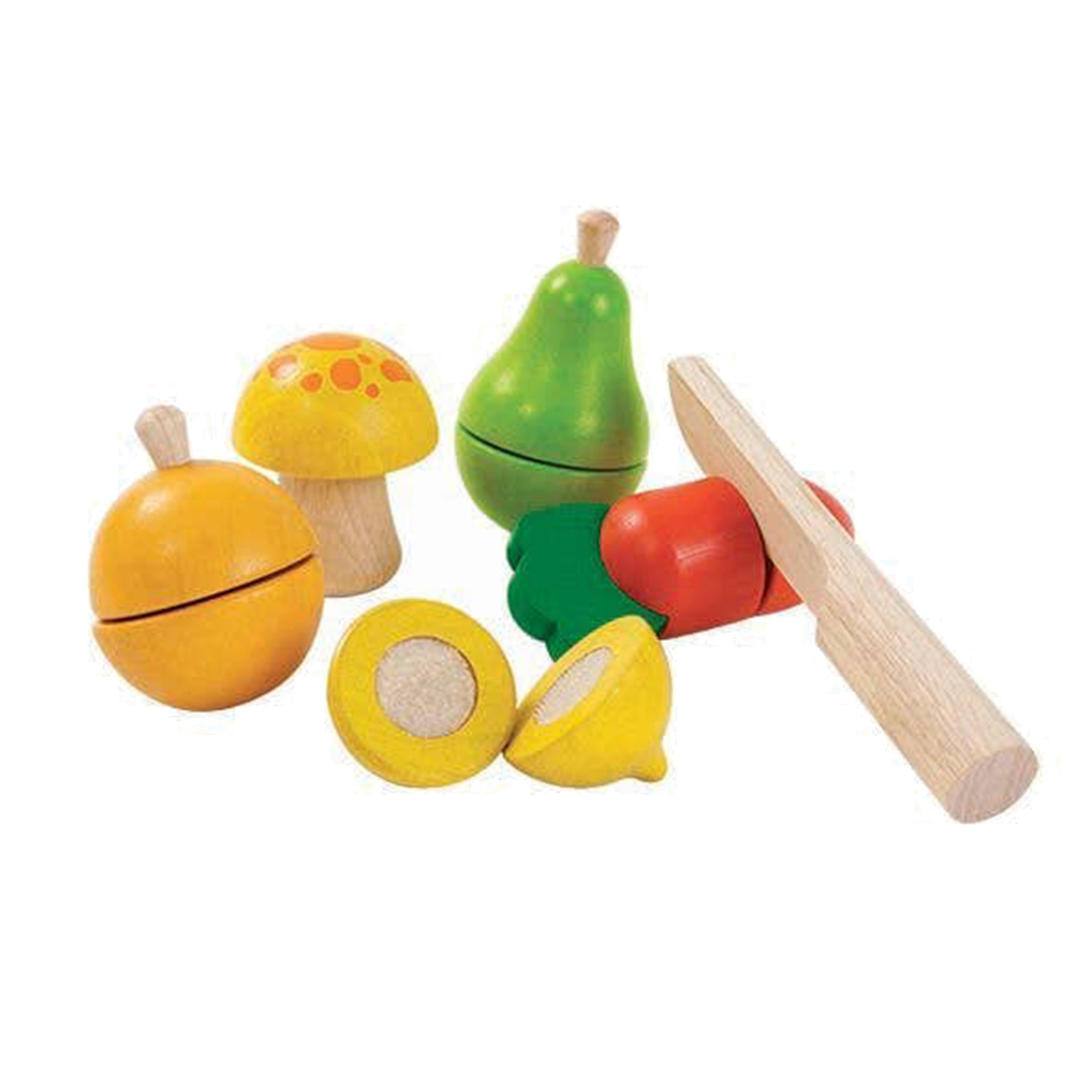 Toddler Fruit and Vegetable Cut Play Set