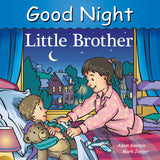 Goodnight Little Brother writtren by Adam Gambler and illustrated by Mark Jasper
