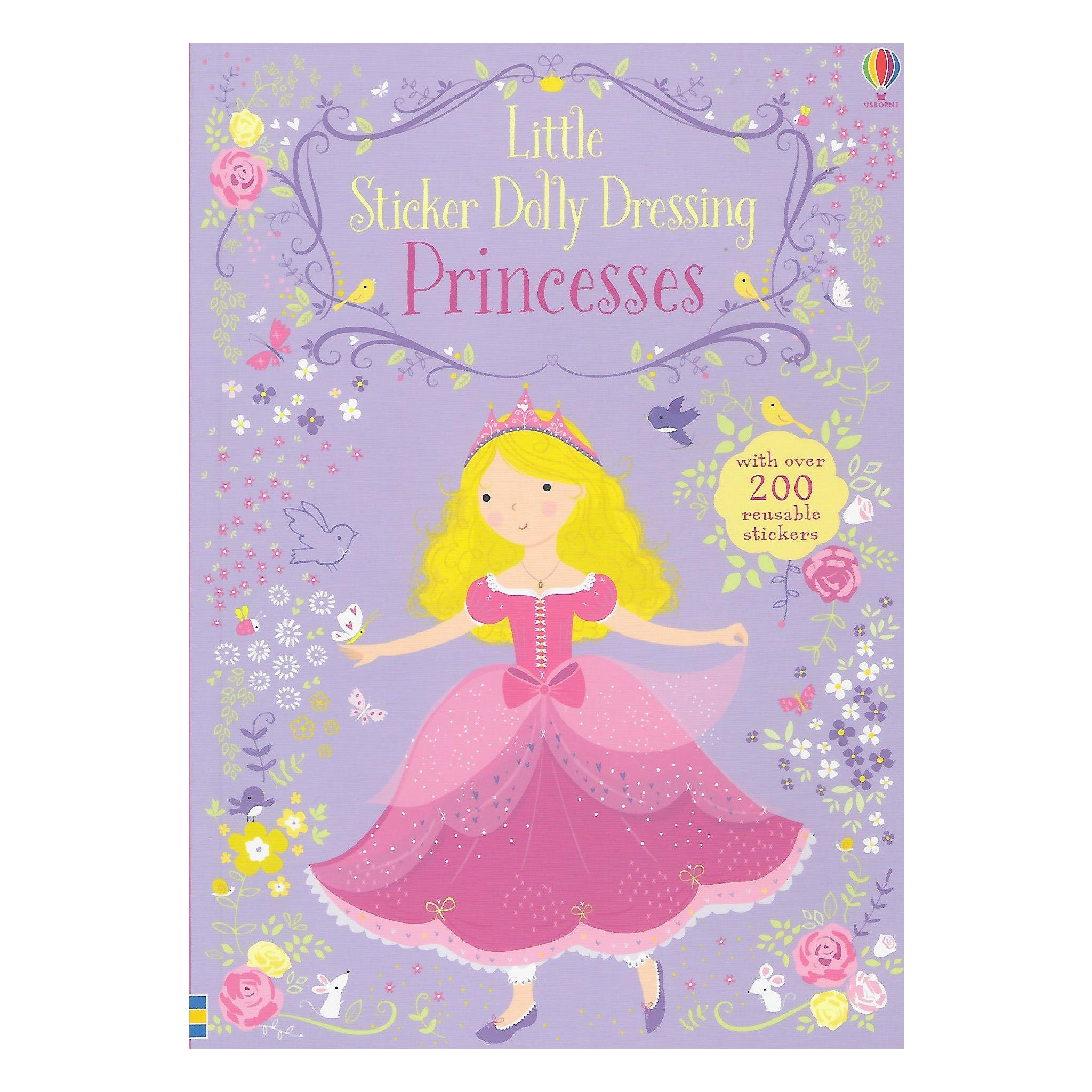 Little Sticker Dolly Princesses Book