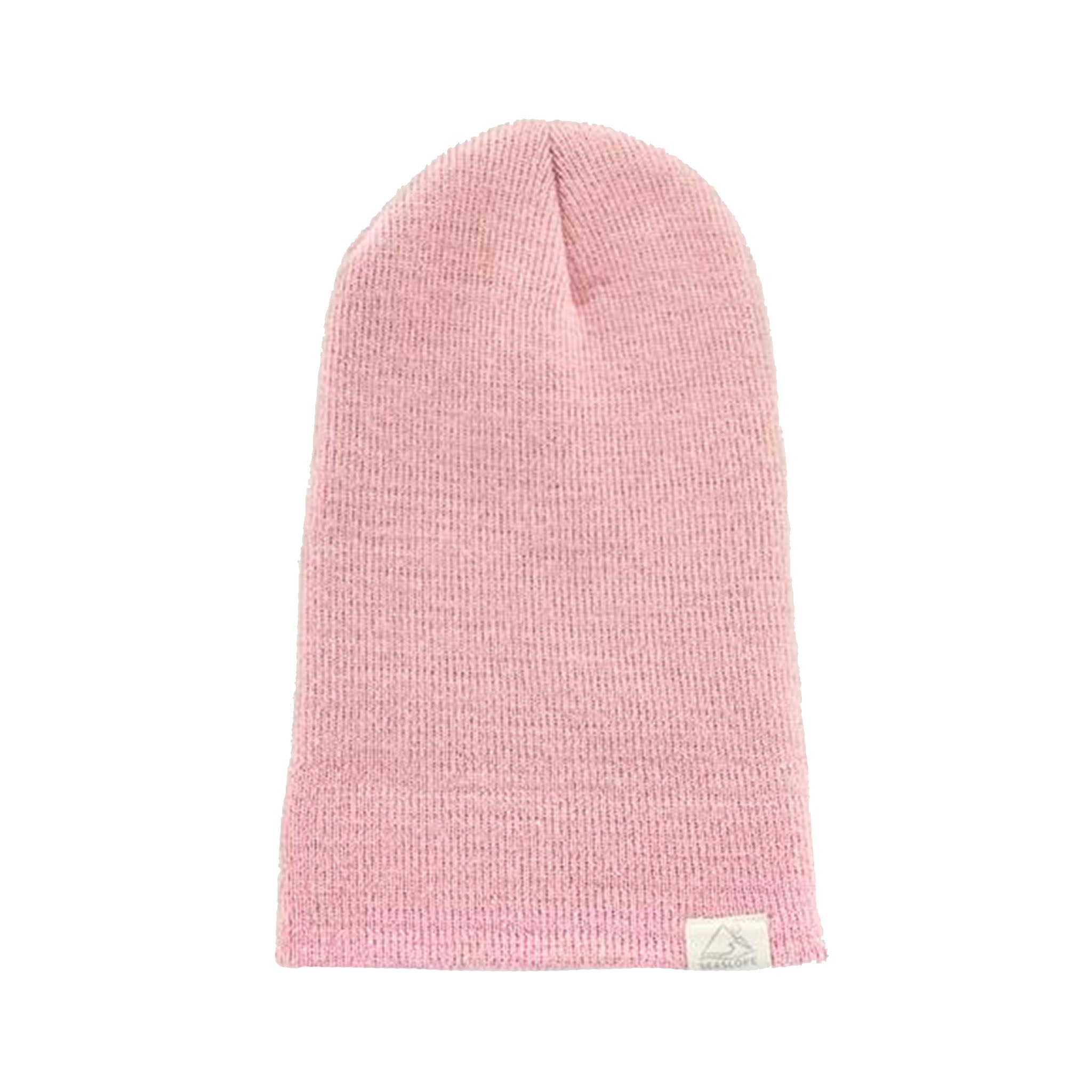 Knit Pink Peony Beanie (Toddler + Little Girl)