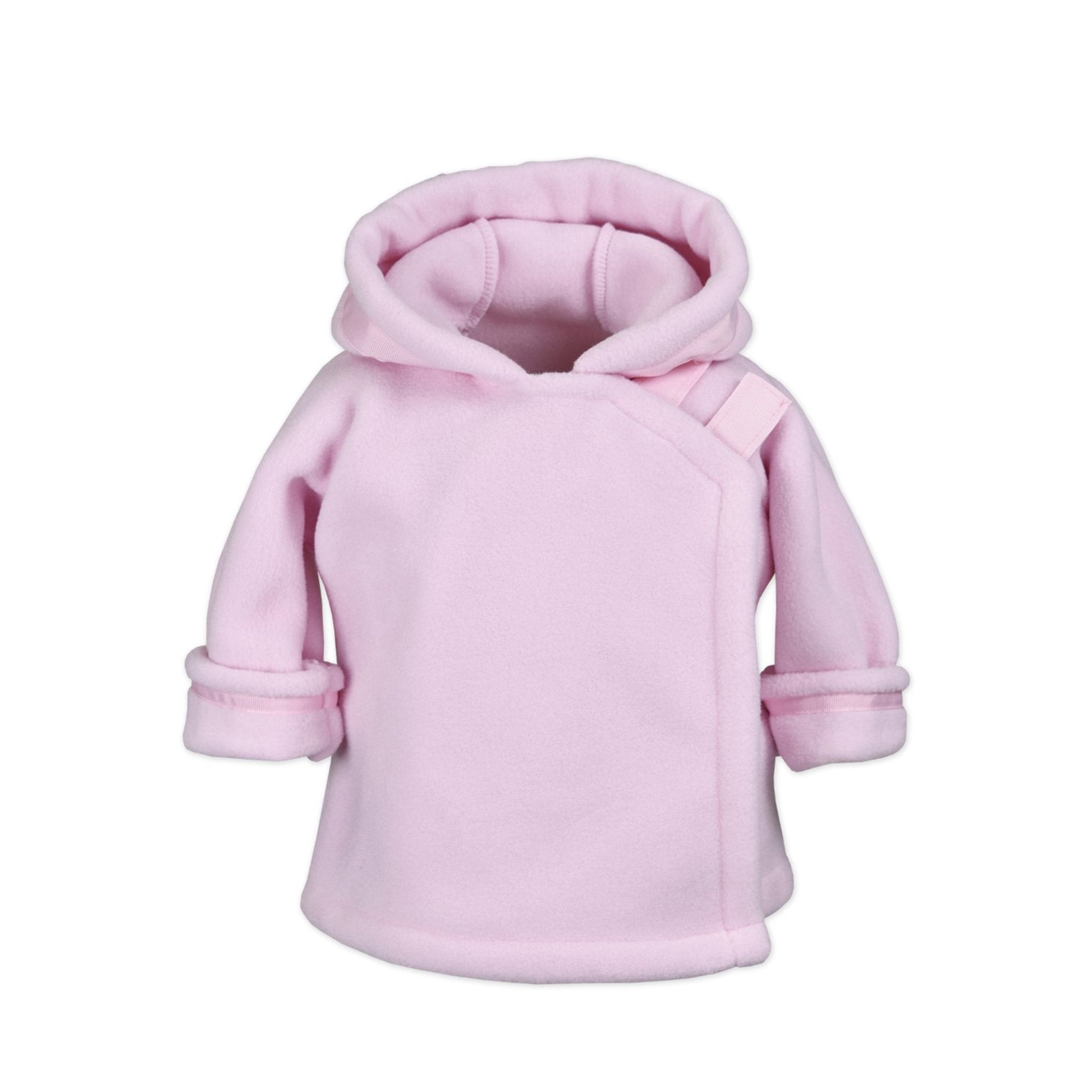 Light Pink Polartec Pullover Jacket