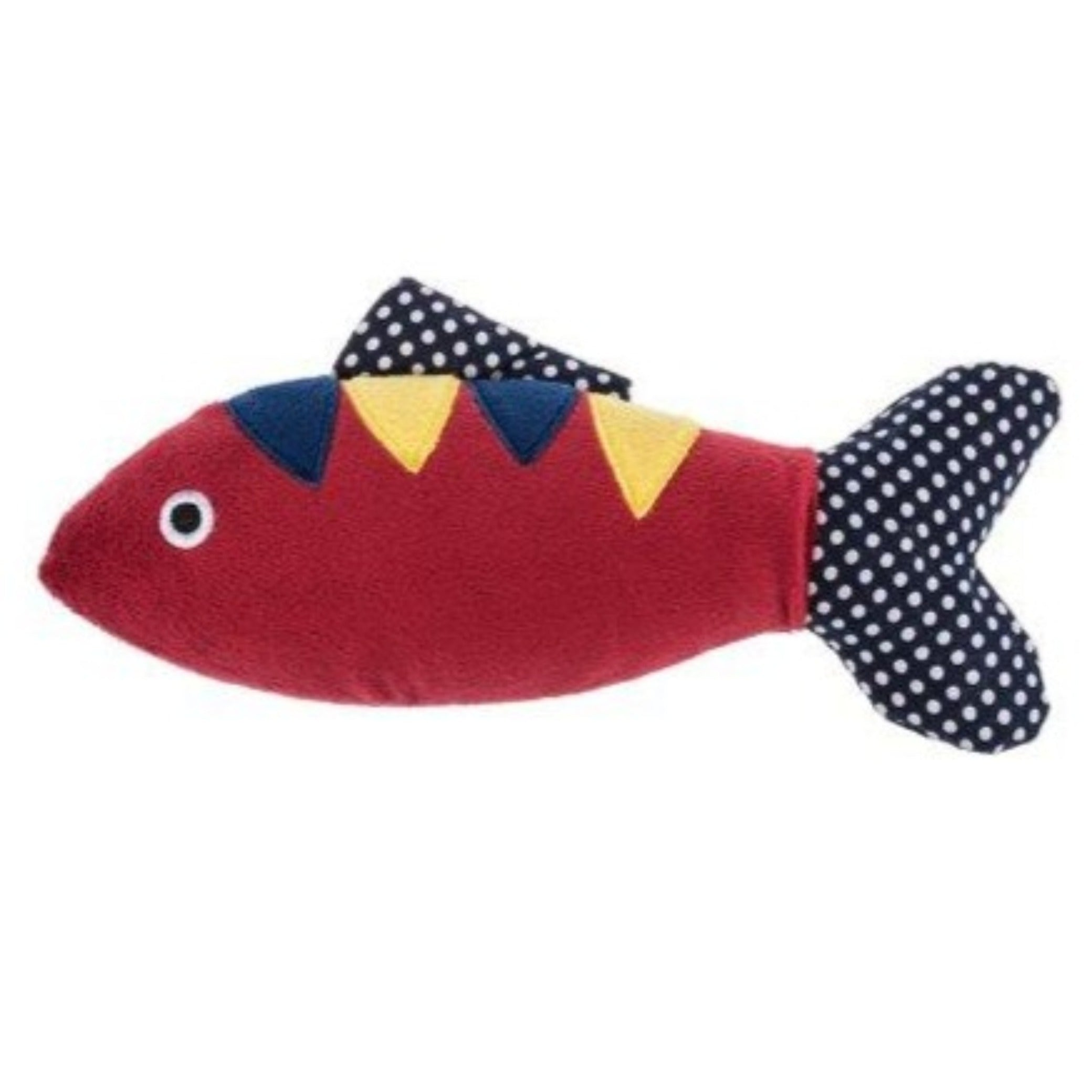 Ganz fish crinkle squeak toy