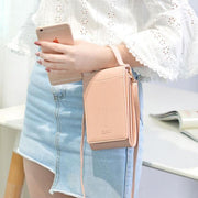 Women Solid Daily Crossbody Phone Bag