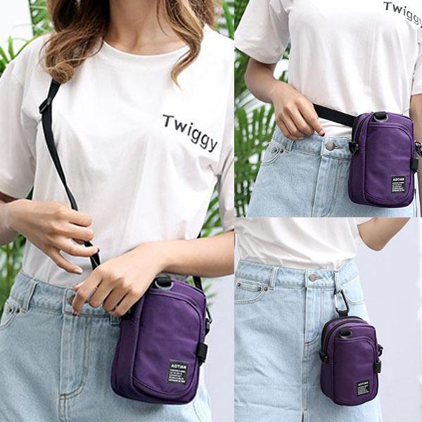 Women's Fashion Oxford Waist Pack Phone Bags