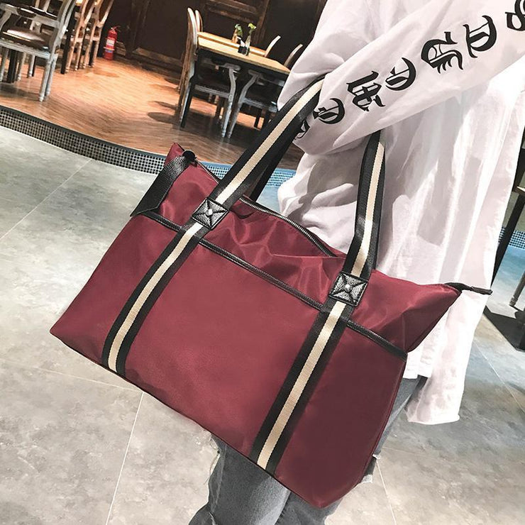 Women Oxford Travel Shoulder Bag Handbag