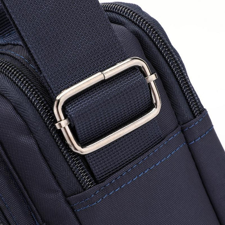 Multilayer Men Messenger Shoulder Bag