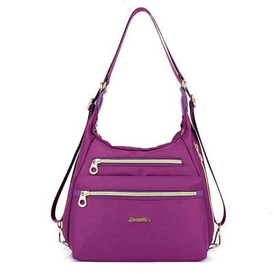 Women's Nylon Waterproof Double-sided Multifunctional Crossbody Bags