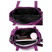 Waterproof Double Pocket Shoulder Bag