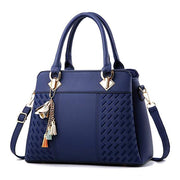 Women Leather Large Capacity Handbag Crossbody Bags