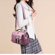 New Crossbody Bags For Women Handbag PU Leather Flap Ladies Shoulder Messenger Bags 115989