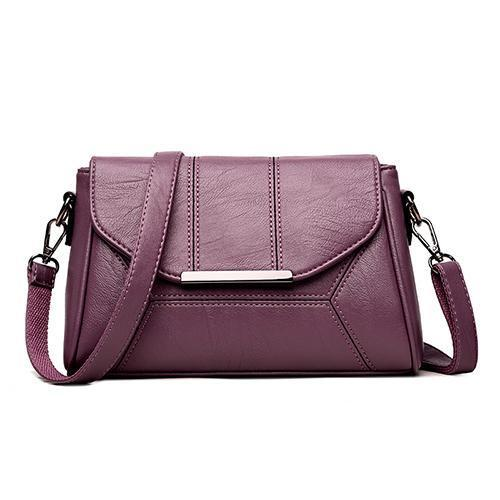 Soft Crossbody Bags For Women High Quality Pu Leather Designer Ladies Shoulder  Handbags 116307