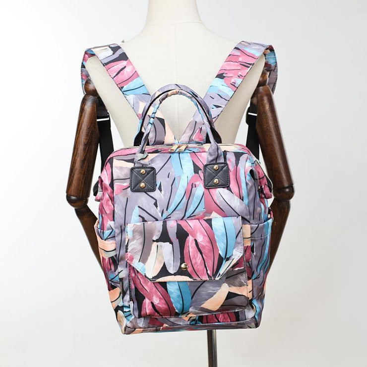 Large Capacity Casual Oxford Women Backpack High Quality Zipper Bag Fashion Mammy Bags 116200