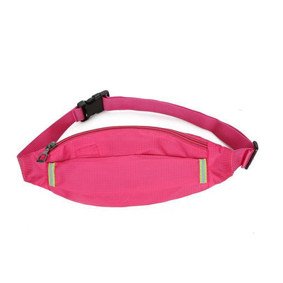 Fashion Sports Women Bum Bags High Quality Waterproof Nylon Ladies Waist Bag 116091