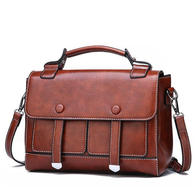 Women Retro Handbag Messenger Bag Crossbody Bags