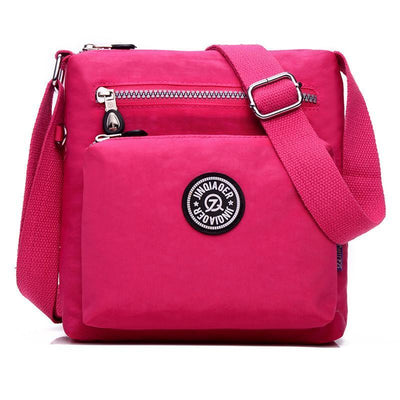 Women Multi Pockets Waterproof Crossbody Bag