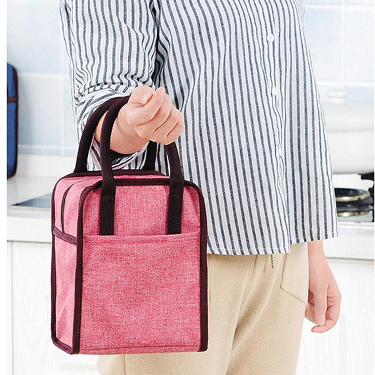 Women Large Capacity Insulation Lunch Bag