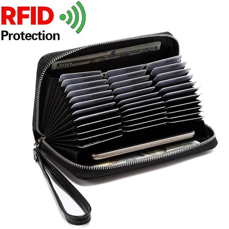RFID Antimagnetic 36 Card Slots Card Holder