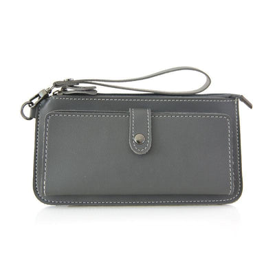 Women Multifunction Zipper Thread Wallet