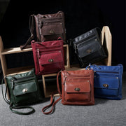 Women Simply Stylish Solid Zipper Crossbody Bag