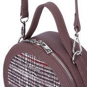 Casual Women Patchwork Round Crossbody Bags