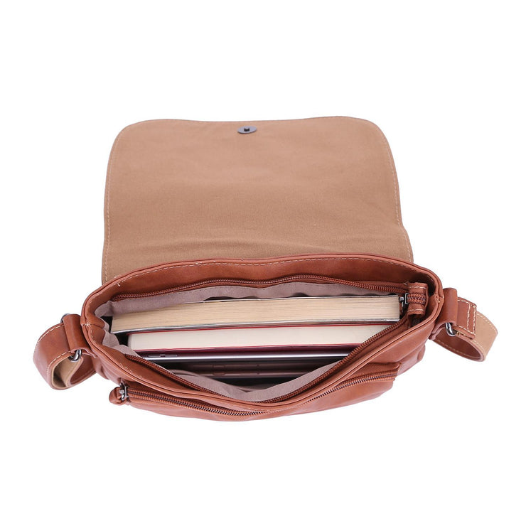 Casual Women Pockets Flap Crossbody Bags