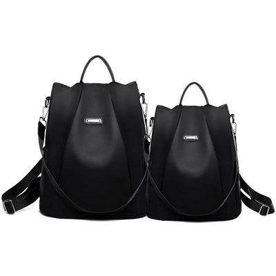 Women's Simple Oxford Backpack